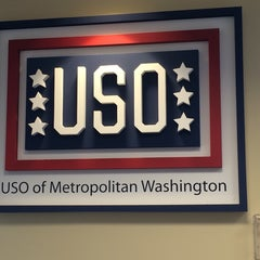 Photo taken at USO - Reagan National Airport (DCA) by Jen T. on 6/21/2014