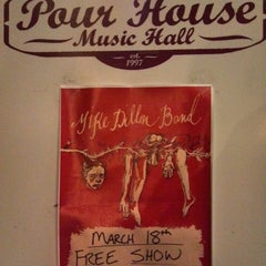 Photo taken at The Pour House Music Hall by Bryan R. on 3/19/2013