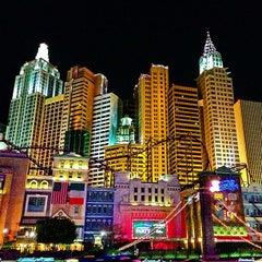 Photo taken at New York-New York Hotel & Casino by Matt N. on 2/12/2013