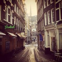 Photo taken at Café Van Zuylen by Lau B. on 1/17/2013