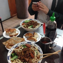 Photo taken at Kai Feng Fu Dumpling House by Jess N. on 11/23/2014