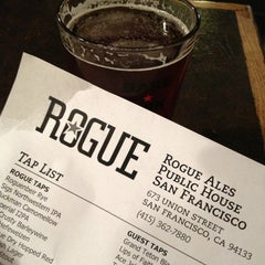 Photo taken at Rogue Ales Public House by Gretchen A. on 2/23/2013