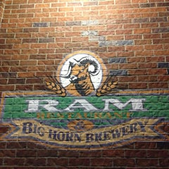 Photo taken at RAM Restaurant & Brewery by Kerry M. on 1/24/2013