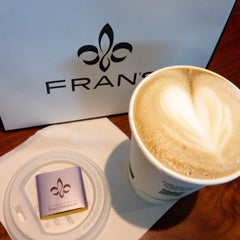 Photo taken at Fran's Chocolates by Kerry M. on 4/25/2015