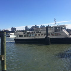 Photo taken at East River Ferry - Wall St/Pier 11 Terminal by Petr S. on 10/10/2015