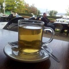 Photo taken at Café-Restaurant Port Saladin by Priscila S. on 10/18/2012