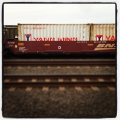 Photo taken at BNSF Tacoma Yard by Burk J. on 4/3/2013