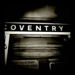Photo taken at Coventry Railway Station (COV) by Chris G. on 12/10/2012