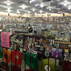 Photo taken at Amoeba San Francisco by Whitney B. on 4/4/2013
