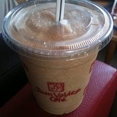 Photo taken at Juan Valdez Café by Chris G. on 12/21/2012