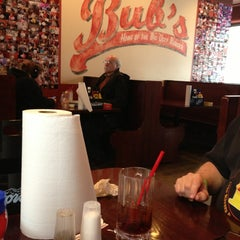Photo taken at Bub's Burgers & Ice Cream by Erin M. on 3/24/2013