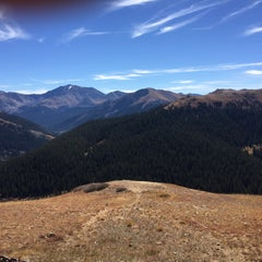 Photo taken at Independence Pass by Matt C. on 10/10/2015