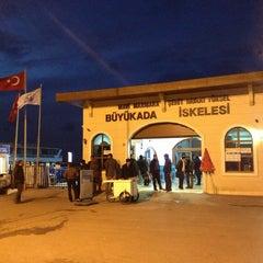 Photo taken at Büyükada Motor İskelesi by Dmitry N. on 1/6/2013