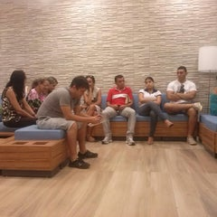Photo taken at Banco do Brasil by Katianne V. on 4/4/2014