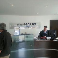 Photo taken at Reifen Haub by Malte H. on 4/17/2013
