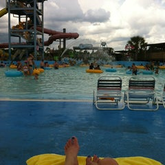 Photo taken at Gulf Islands Waterpark by Dana M. on 7/19/2013