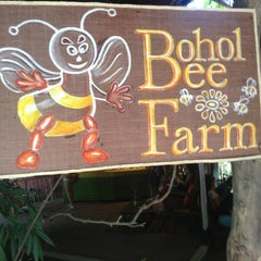 Photo taken at Bohol Bee Farm by Adrian A. on 7/11/2013