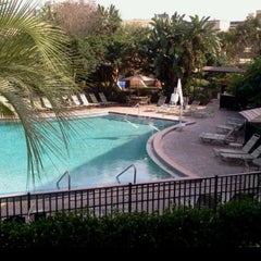 Photo taken at Rosen Inn at Pointe Orlando by Karly S. on 5/29/2013