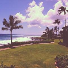 Photo taken at Sheraton Kauai Resort by Jerry S. on 7/20/2013