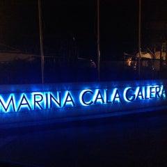 Photo taken at Marina Di Cala Galera by Donatella F. on 10/25/2013