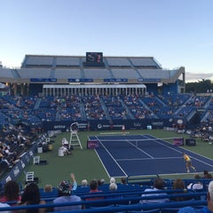 Photo taken at Connecticut Tennis Center by Jane S. on 8/28/2015