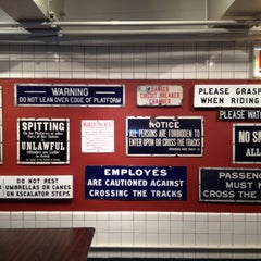 Photo taken at New York Transit Museum by Marty D. on 5/7/2013