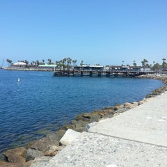 Photo taken at Redondo Beach Marina by Matthias S. on 7/10/2014