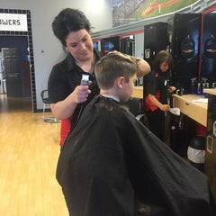 Photo taken at SportClips by Barbara M. on 8/19/2015