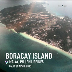 Photo taken at Boracay Island by Engr. Moon Ray L. on 4/20/2013