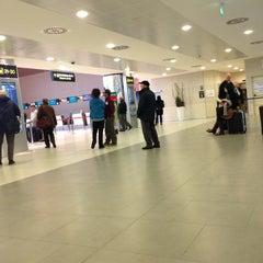 """Photo taken at Aeroporto di Firenze """"Amerigo Vespucci"""" (FLR) by Claudio P. on 12/5/2012"""