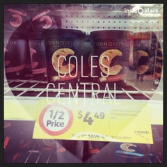 Photo taken at Coles Central by Taro M. on 11/2/2013