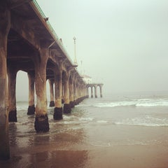 Photo taken at Manhattan Beach Pier by Chandler L. on 7/14/2013