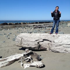 Photo taken at North Jetty by Theo Z. on 5/4/2013