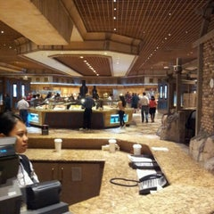 Photo taken at MORE The Buffet at Luxor by Bryan P. on 11/23/2012