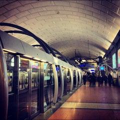 Photo taken at Métro Châtelet [1,4,7,11,14] by MikaelDorian on 11/4/2012
