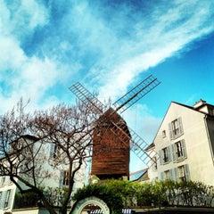 Photo taken at Le Moulin de la Galette by MikaelDorian on 12/18/2012