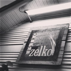 Photo taken at Zelko Bistro by shawn e. on 6/8/2013