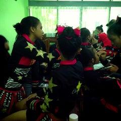 Photo taken at SMA Negeri 68 Jakarta by Arsi T. on 9/14/2013
