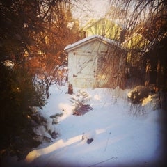 Photo taken at Fall Creek, NY by Erica G. on 1/5/2014