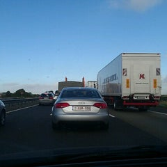 Photo taken at A 61 by Alexandra S. on 9/19/2012