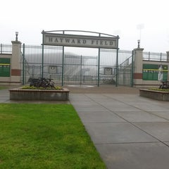Photo taken at Hayward Field by Lynn C. on 12/6/2014