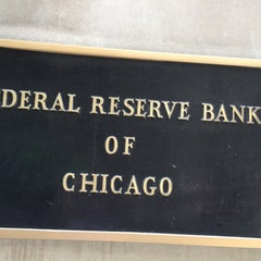 Photo taken at Federal Reserve Bank of Chicago by Ben H. on 5/8/2015