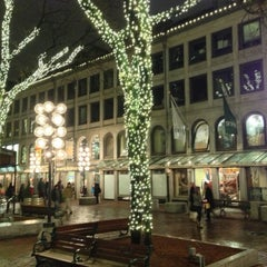 Photo taken at Quincy Market by Ben H. on 12/8/2012