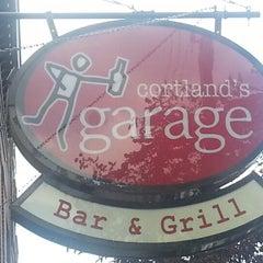Photo taken at Cortland's Garage by Alvin E. on 10/6/2012