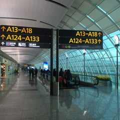Photo taken at Guangzhou Baiyun Int'l Airport 广州白云国际机场 (CAN) by Jacky W. on 12/30/2012