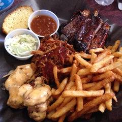 Photo taken at Memphis BBQ by Noah E. on 7/23/2014