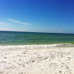 Photo taken at Treasure Island Beach by Yulianna G. on 10/18/2012