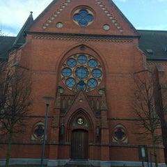 Photo taken at Gustav Adolfs torg by Maria K. on 11/17/2015