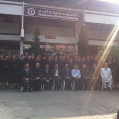 Photo taken at Department of Electrical Engineering, Chiang Mai University by CHELSEANNE T. on 1/22/2014