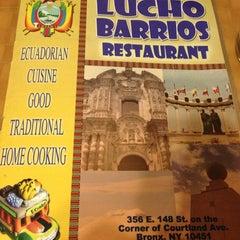 Photo taken at Lucho Barrios Restaurant by Monserrat A. on 12/29/2012